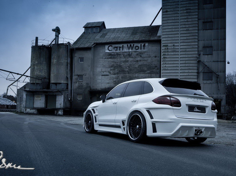 Porsche Cayenne The Giant by ASMA Design