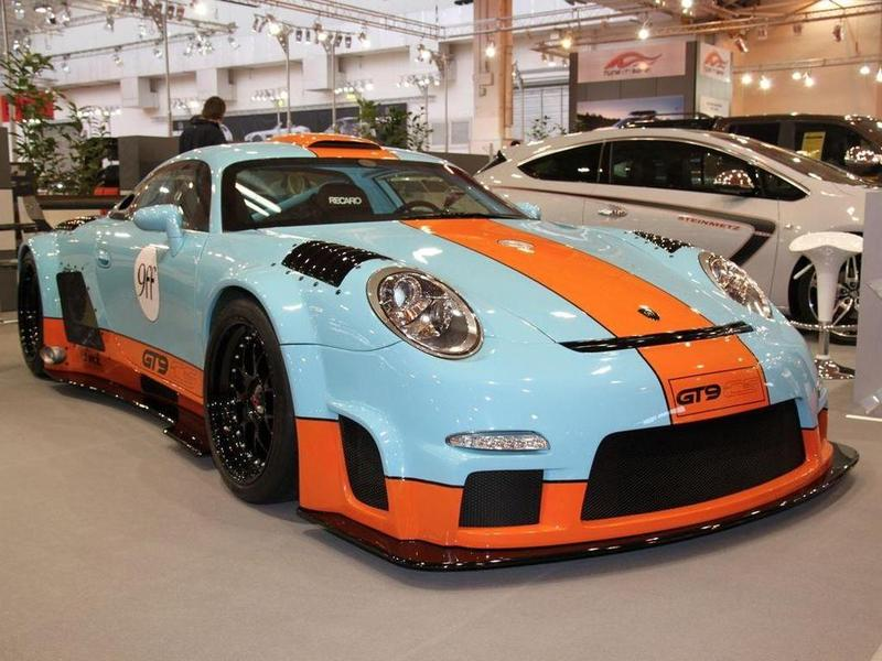 Болид на платформе Porsche оказался быстрее самих Porsche