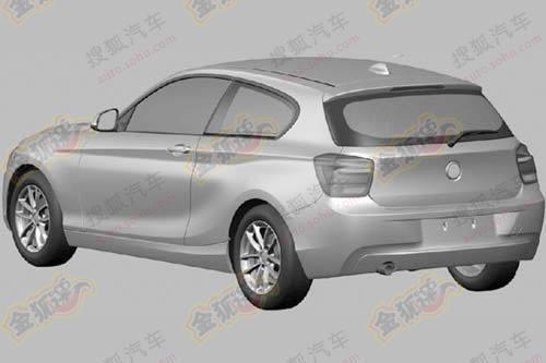 Обнародованы изображения трехдверной единички BMW