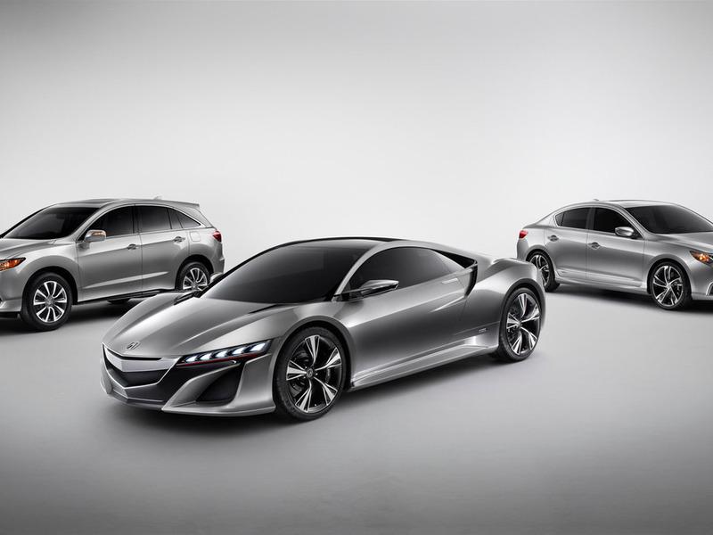 Honda привезла в Детройт три концепта: спорткар, седан и кроссовер