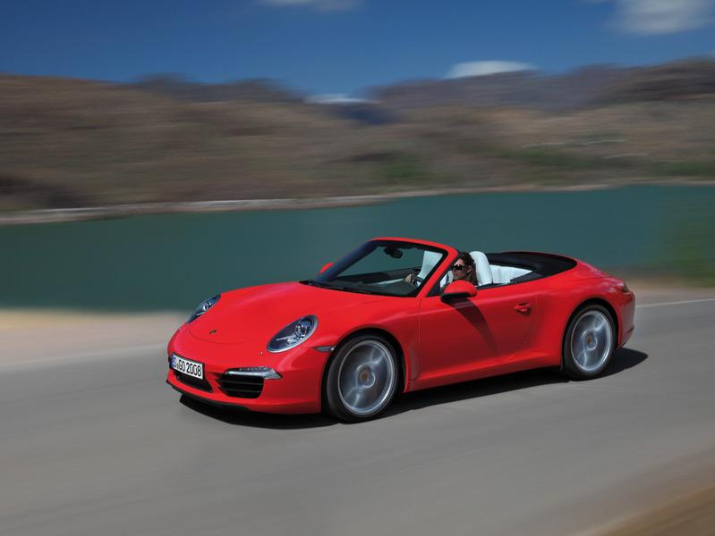 Состоялась официальная премьера кабриолета Porsche 911