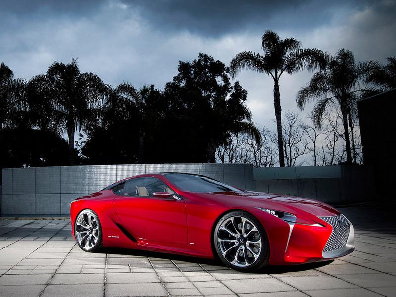 Lexus продемонстрировал роскошное купе LF-LC