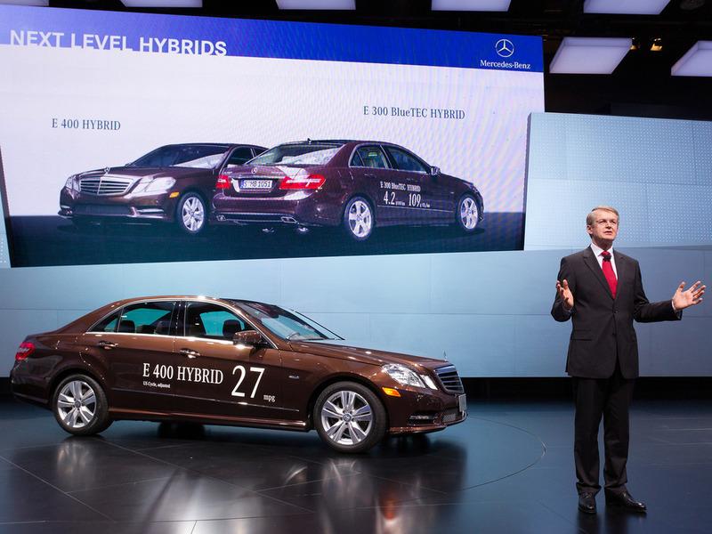 Mercedes готовит для Европы самый экономичный седан премиум-класса