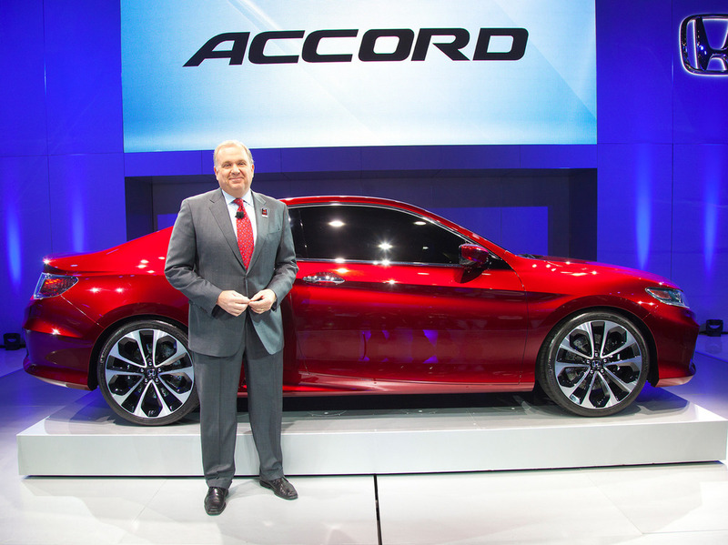 Honda Accord Concept 2013 Детройт