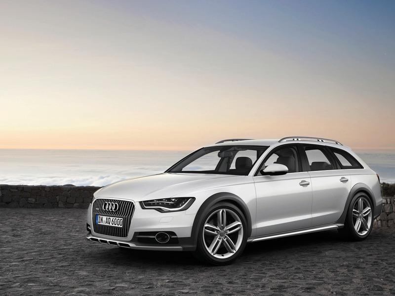 Audi рассекретил новое поколение А6 Allroad