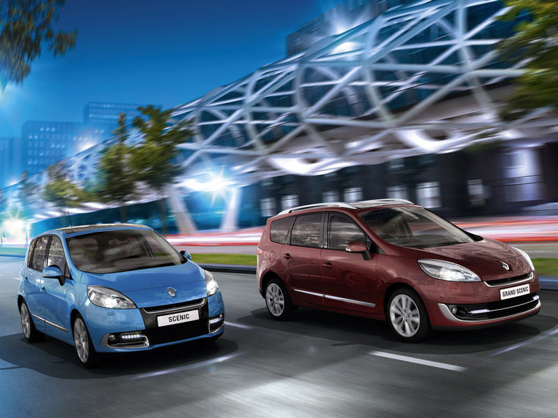 Renault Scenic and Renault Grand Scenic 2012