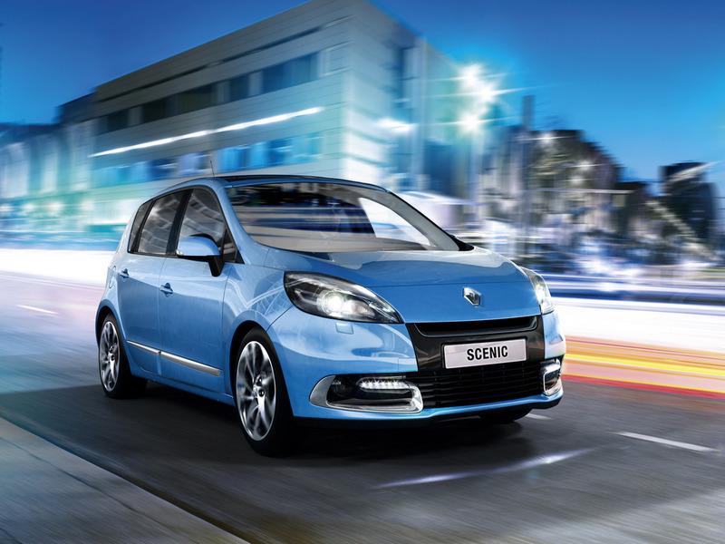 Renault объявил о начале продаж обновленного Scenic