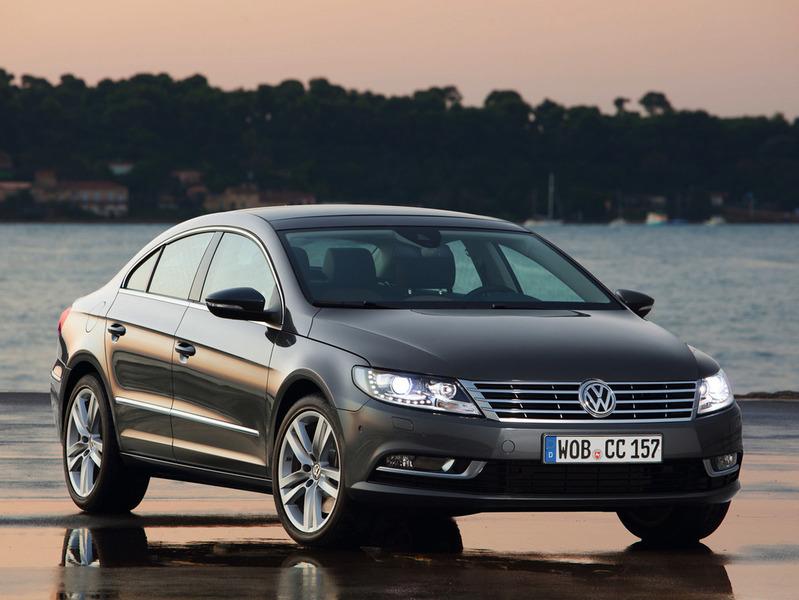 Продажи нового Volkswagen Passat CC стартуют в России 21 апреля