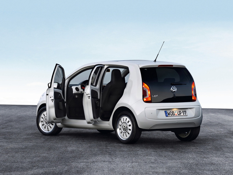 Volkswagen up! (Four-door version)