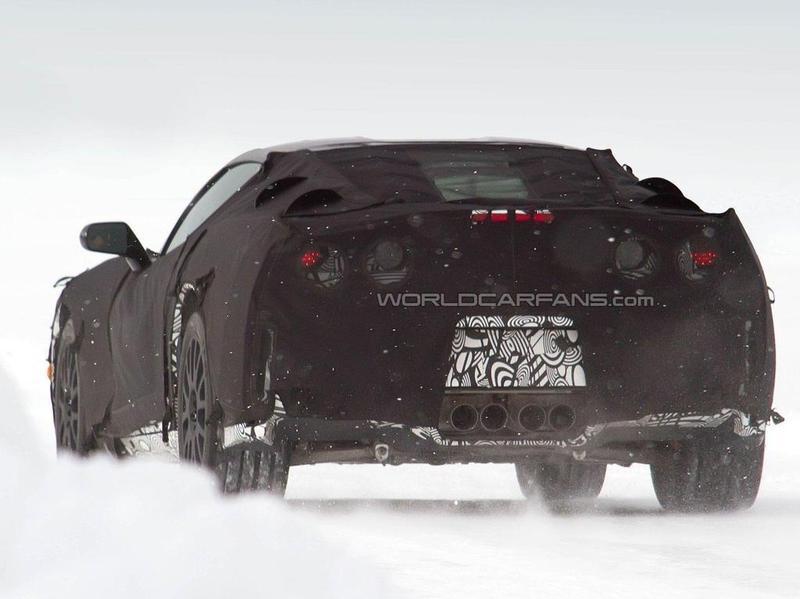 2012 Chevrolet Corvette C7 spy