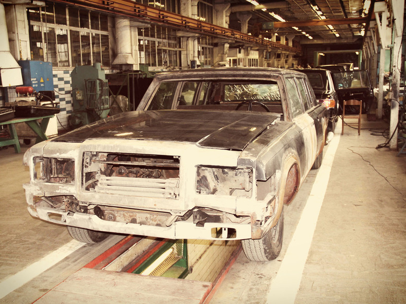 ЗиЛ завод производство сборка сепия