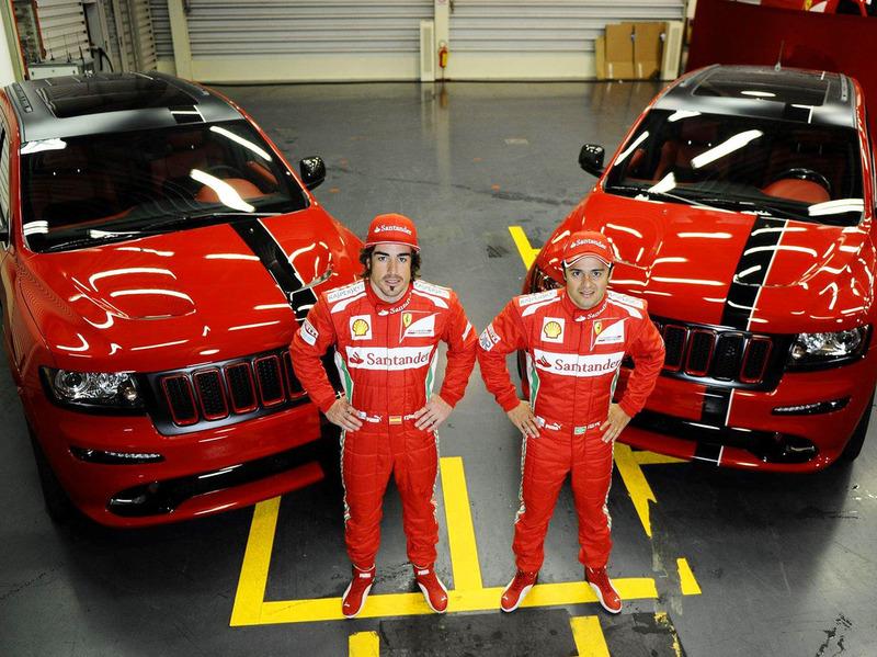 2012 Jeep Grand Cherokee SRT8 for Fernando Alonso and Felipe Massa