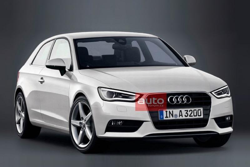 2013 Audi A3.  Первое официальное фото.