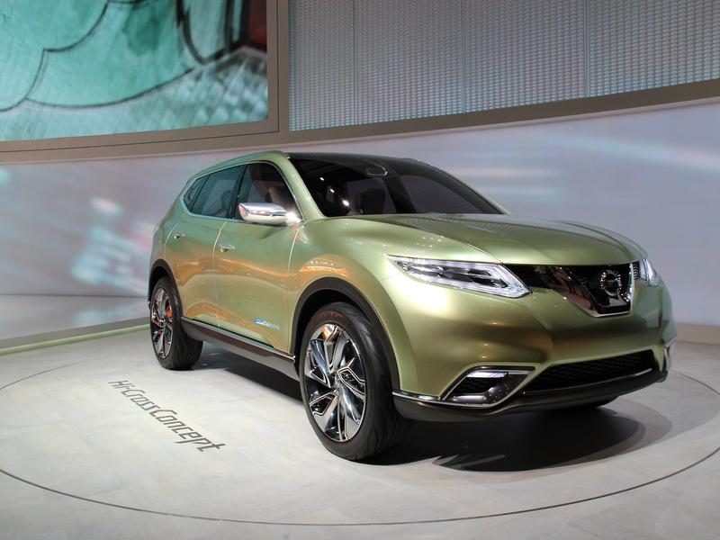 Nissan показал концепт нового X-Trail