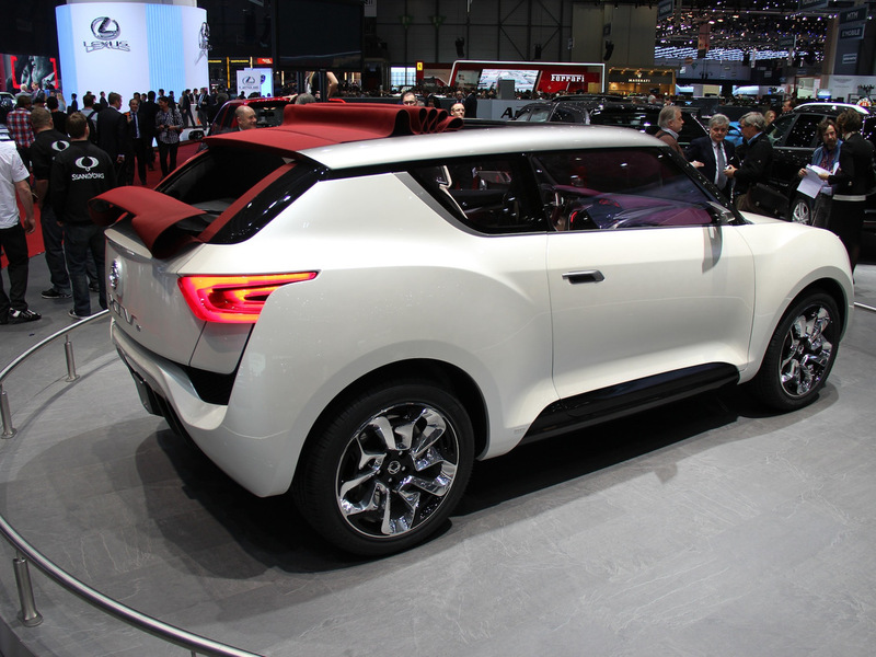 SsangYong показал в Женеве своего конкурента Nissan Juke