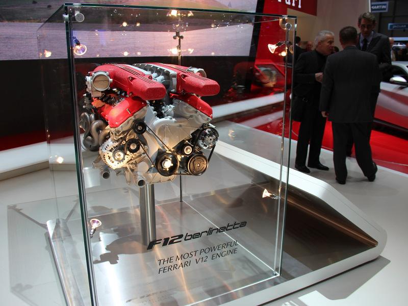 Ferrari получит гибридную силовую установку на базе V12