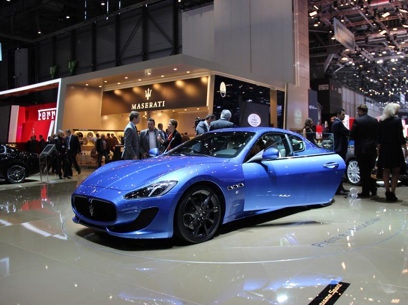 Maserati GranTurismo Sport представлена в Швейцарии