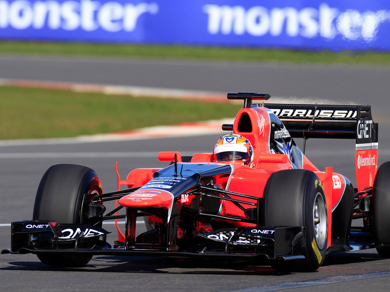 Болид Marussia прошел заключительный краш-тест