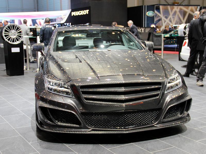 В Mansory построили карбоновый Mercedes-Benz CLS 63 AMG