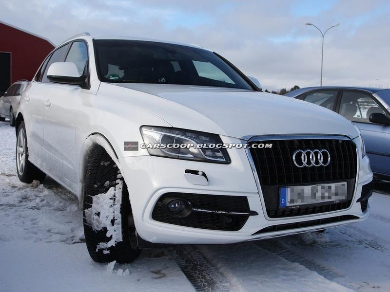 Рестайлинг Audi Q5 будет минимальным