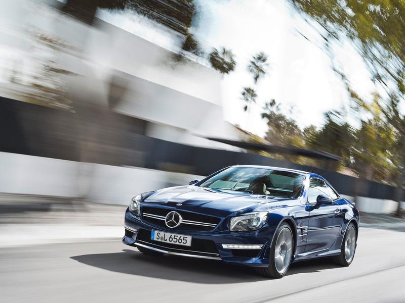 Представлен мощнейший родстер Mercedes-Benz SL 65 AMG