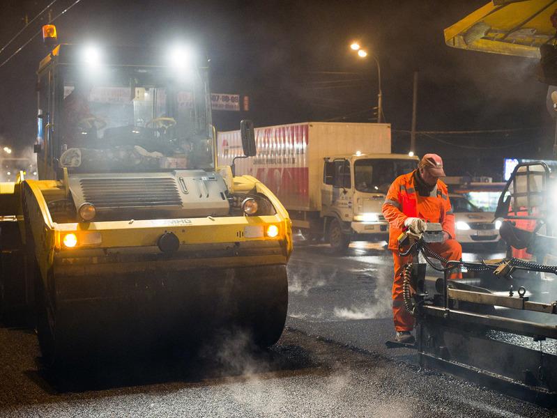 Московские дороги начнут ремонтировать в середине апреля