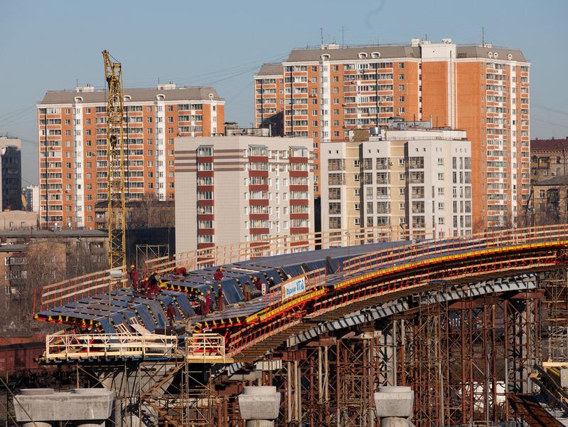 Новый участок Звенигородского проспекта в Москве сдадут к 1 сентября