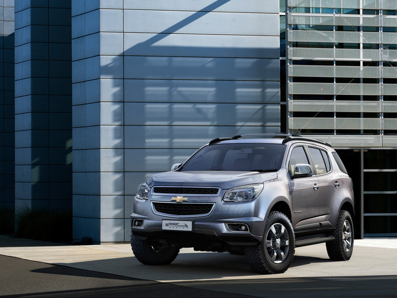 Новый Chevrolet Traiblazer появится в июне