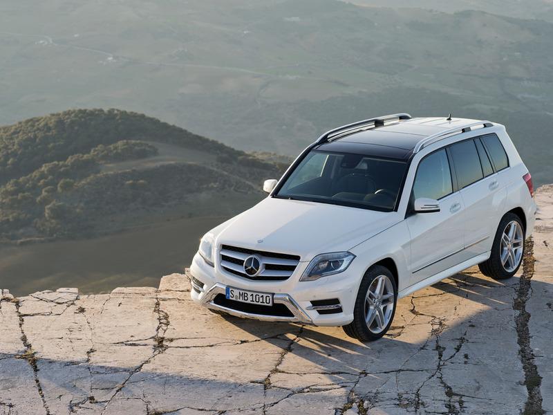 В Нью-Йорк приедет рестайлинговый Mercedes-Benz GLK