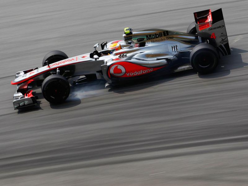 Гран При Китая: третья практика осталась за McLaren