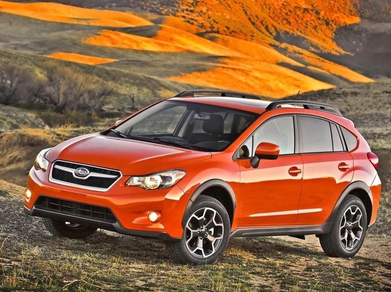 Subaru везет в США компактный кроссовер XV Crosstrek