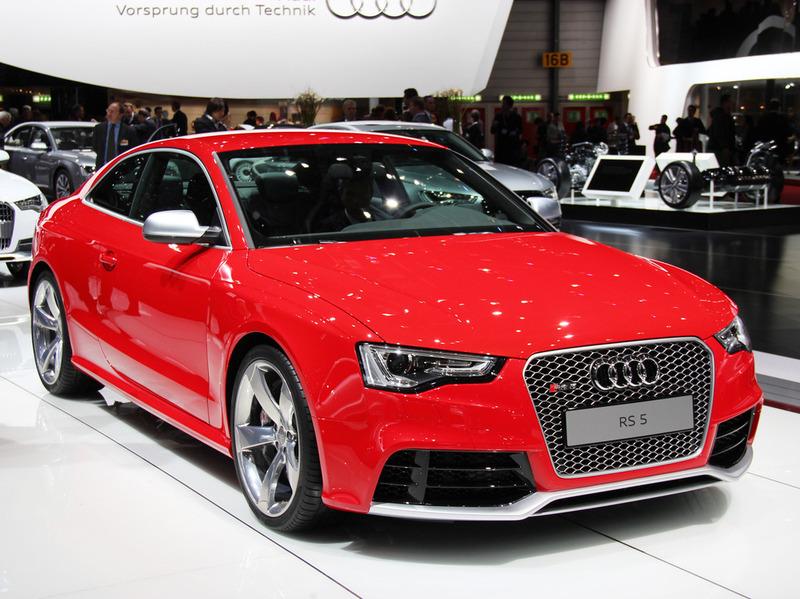 Audi объявил российские цены на купе RS 5