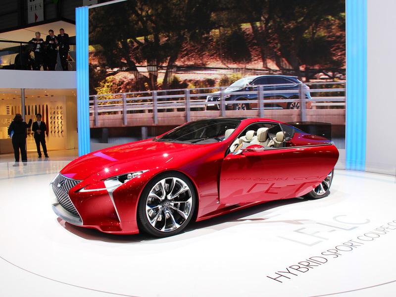 Концепт спорткара Lexus LF-LC может пойти в производство