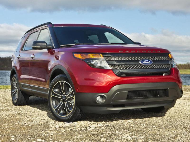 Ford показал заряженный Explorer Sport