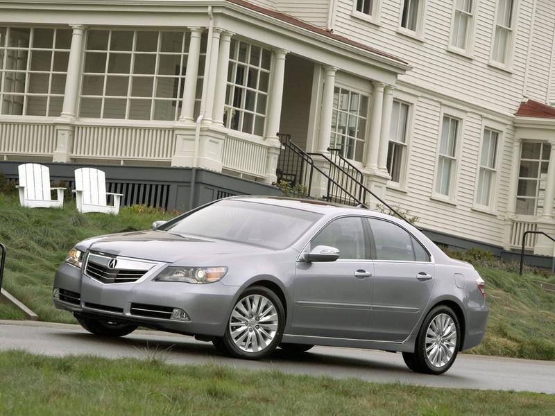 Acura представит в Нью-Йорке новый флагман RLX
