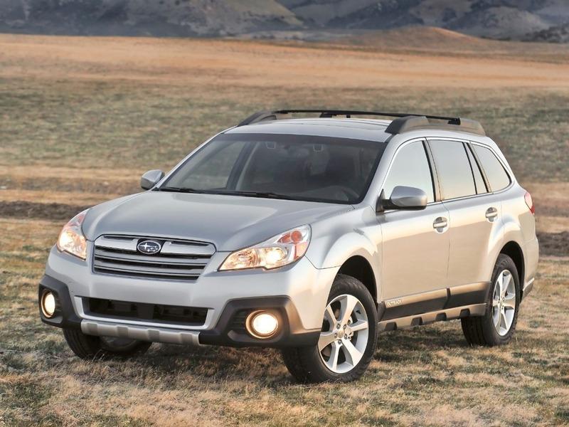 В Нью-Йорк приедут обновленные Subaru Legacy и Outback