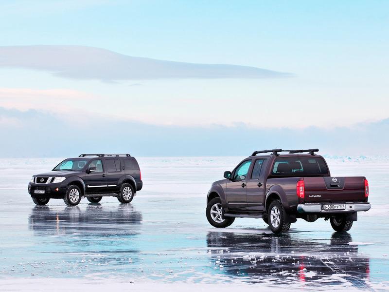 Nissan представил спецверсии Navara и Pathfinder