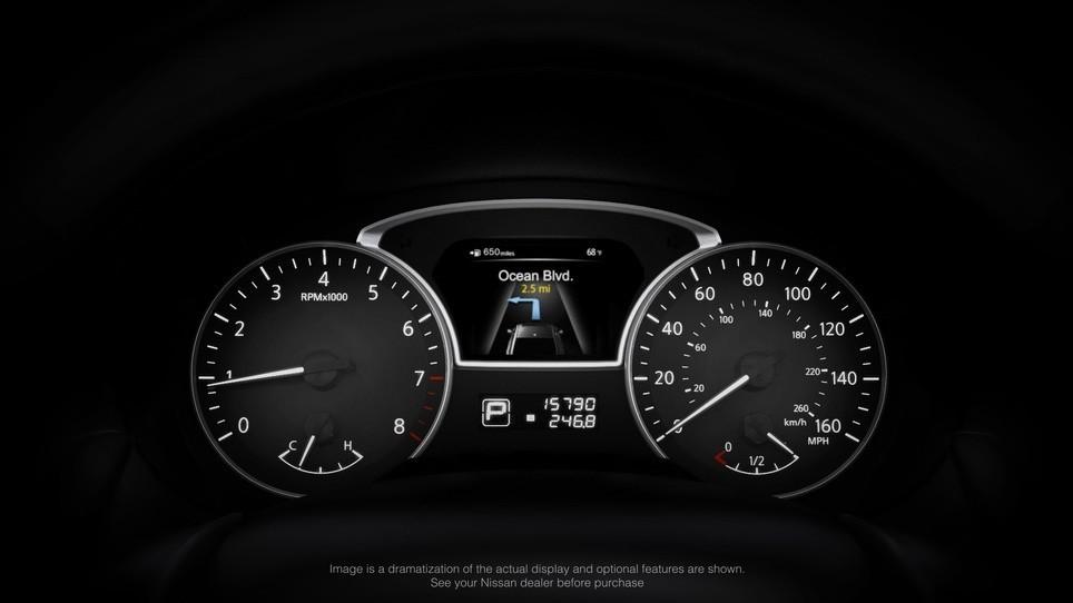 Nissan показал последний тизер нового седана Altima