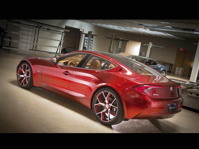 Рассекречена новая модель Fisker - седан Atlantic
