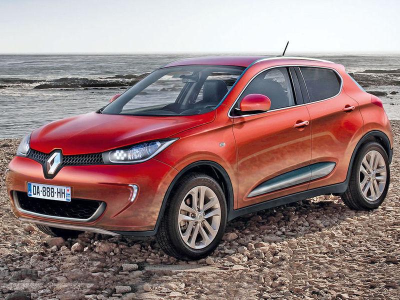 Renault готовит конкурента Nissan Juke