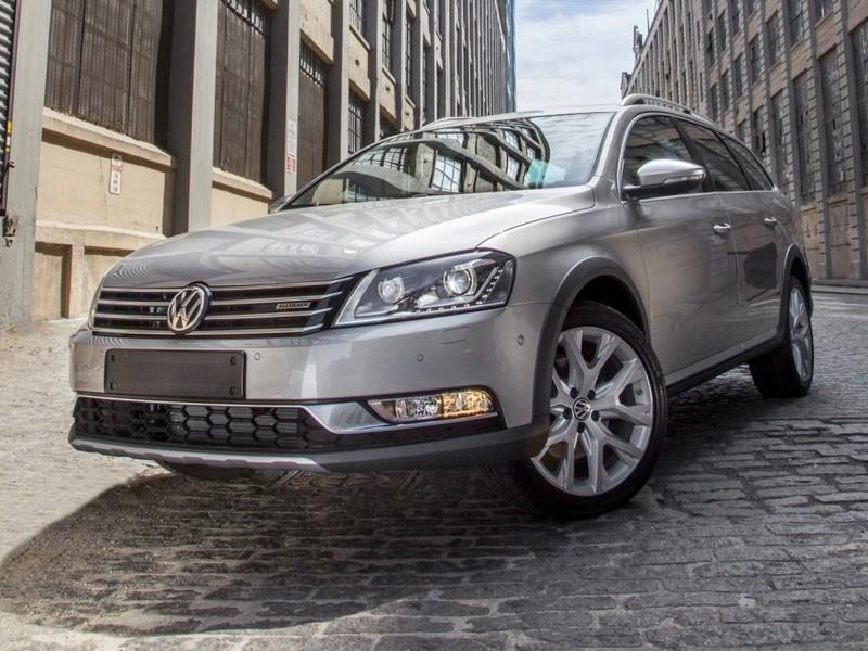VW представит универсал повышенной проходимости Alltrack в Нью-Йорке