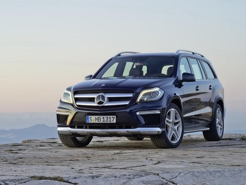 Новое поколение Mercedes-Benz GL дебютирует в Нью-Йорке