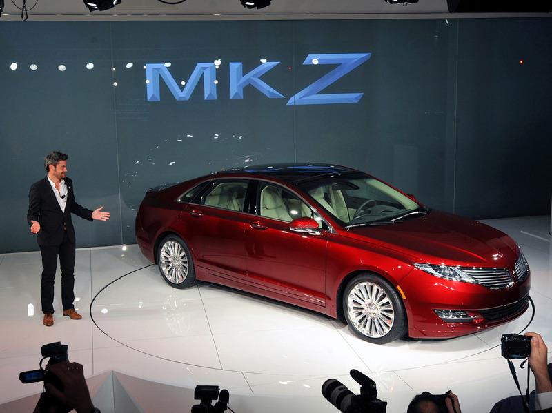 Серийный Lincoln MKZ дебютирует на автосалоне в Нью-Йорке