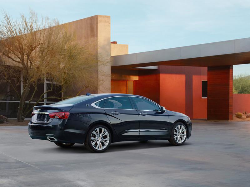GM представит в Нью-Йорке новую Chevrolet Impala