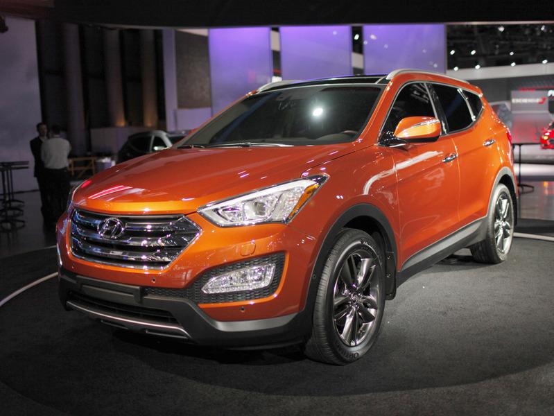 Новый Hyundai Santa Fe появится в Европе летом