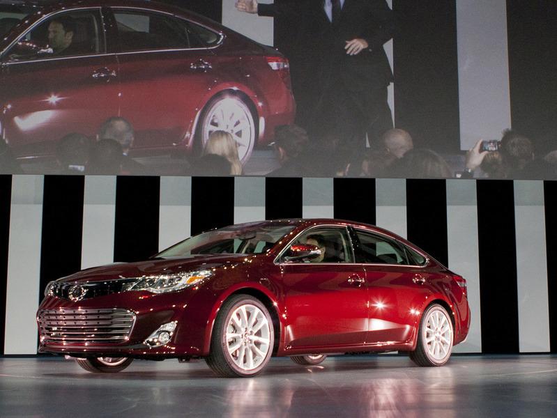 Новый американский флагман Toyota представлен в Нью-Йорке