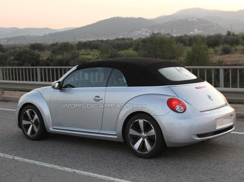 Кабриолет VW Beetle покажут раньше, чем ожидалось