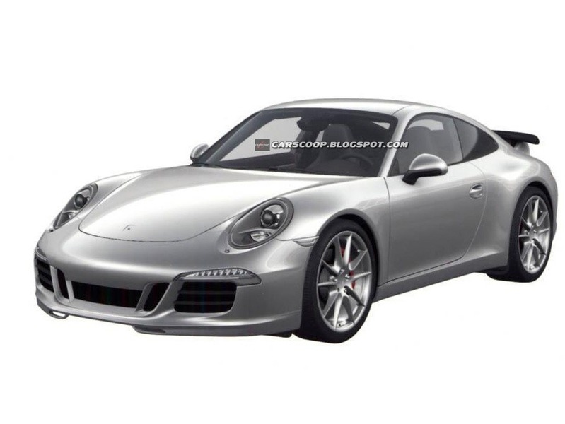 Porsche готовит бодикит для купе 911
