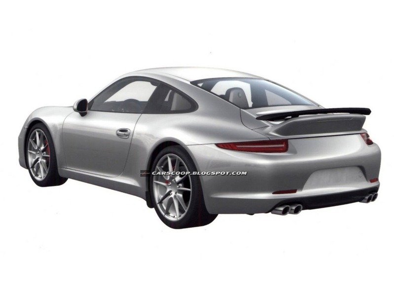 2012 Porsche 911 Patent Images Aerokit and SportDesign Package