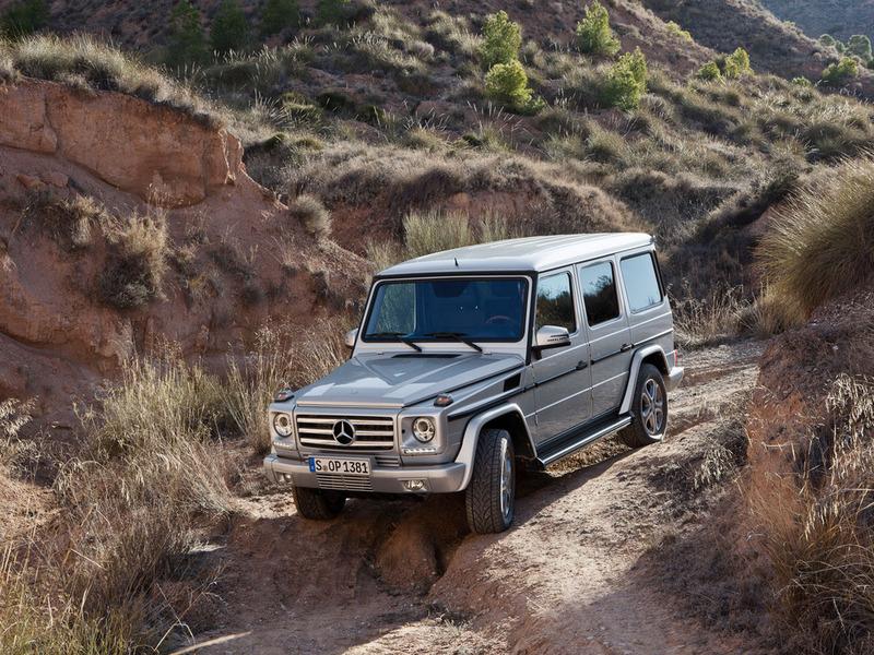 Mercedes-Benz представил обновленный Гелендваген